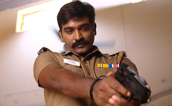 Vijay Sethupathi's convincing portrayal of an honest police officer