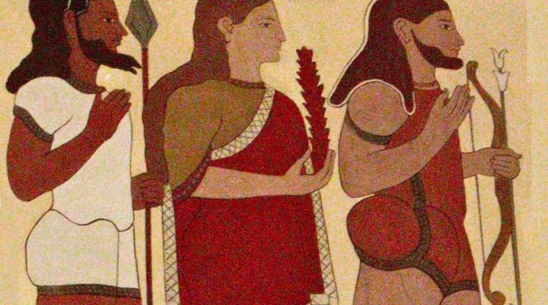 Rama-Sita-Lakshmana-painting-in-Italy