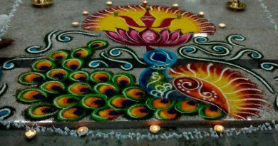 Kolam Art of M. Mogan