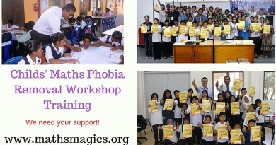 Funds Needed for Vedic Maths Workshops to Overcome Pupils' Maths Phobia
