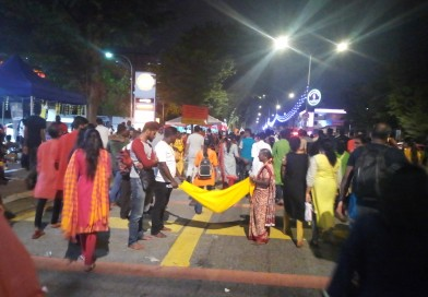 M'sian Hindus In Full Force for Thaipusam Eve Celebration