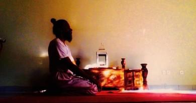 Ardha Padmasana (Lotus Pose)