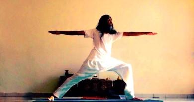 Virabhadrasana II (Warrior pose II)