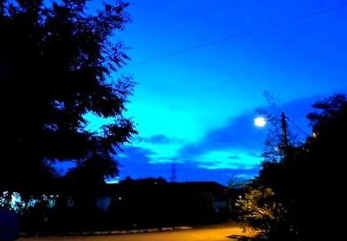 Blue Of Moonlit Night
