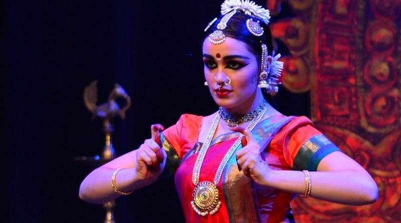 Vinod Shankar Menon's shot of Shaan Talya Hayes performing in her arangetram on Feb 26.