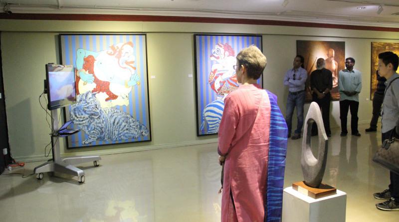 Sivarajah's paintings